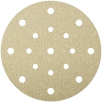 Self Fastening Disc - (PS33) Paper/Aluminium oxide/Triangular/6 holes 120grit 96mm - Pack of 100