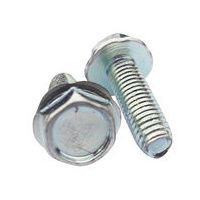 M12X30 Hex Flanged Head Trilobular Screw Zinc Plated