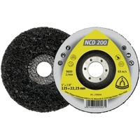 Cleaning Wheel - (NCD200) Silicon carbide/Non-woven/Flat 115x22mm - Pack of 5