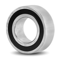 5204-2RS Premium Angular Contact Ball Bearing Double Row Rubber Seals (20x47x20.6)