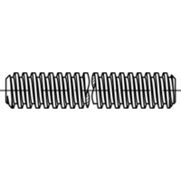 M30X1M Metric Coarse Threaded Allthread Rod DIN 975 Class 4.6 Galvanized - Pack of 1