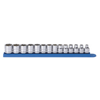 "14 Pc. 3/8"" Drive 6 Point Standard Metric Socket Set"