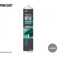 Tradesman MF50 Roof & Gutter Silicone Sealant Aluminium 300ml Cartridge