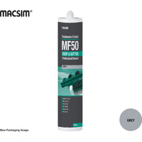 Tradesman MF50 Roof & Gutter Silicone Sealant Grey 300ml Cartridge