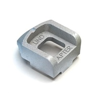 Lindapter - Type A Recessed Clamp M12 Long Tail Hot Dip Galvanized