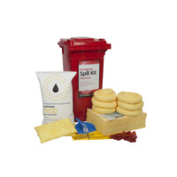 120ltr Wheeled Bin Standard Spill Kit - Chemical - Refill