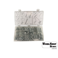 Workshop Buddy 200pce Spring Kit (5x20.5-4.5x44.5/7x12.5-9.5x17mm)