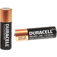 Duracell Coppertop Battery AA 1.5V