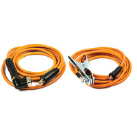 200 AMP WELDING LEAD SET 16MM2 (LARGE DINSE) 5 METRE - WLSLP200-5