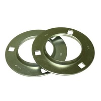 PF205 Pressed Metal Flanged Round Housing Per Pair