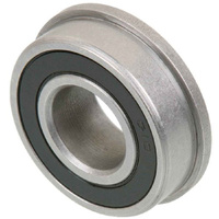UGB0818F Bearing Unground S18084SP Zinc Plated Rubber Seals (1/2x1-1/8''x7.8/9.5mm)