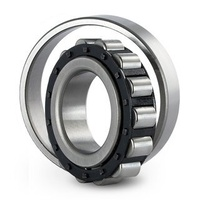 N2208EM Cylindrical Roller Bearing Loose Outer Fixed Inner (40x80x23)