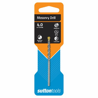 Sutton Drill D600 4.0mm X 75mm Masonry Straight Shank Standard Fixing