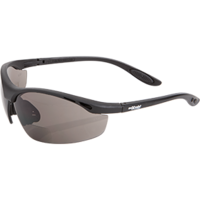 Smoke Bifocal Safety Glasses - 2.5 Magnification