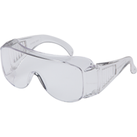 Visispec Clear Safety Glasses With Anti - Fog