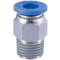 QF3 1/4x3/8 Push-In Male Connector