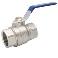 1/4 F&F Full Bore Ball Valve (AGA Approved)