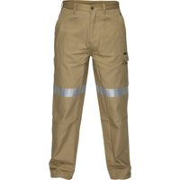 Cotton Cargo Pants With Tape