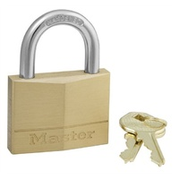 Master Padlock Brass 50mm Keyed Alike 1K069