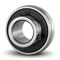 SB207 Wide Inner Ring Bearing with Grub Screw (35mm)