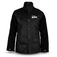 Unimig Black Jacket W/Leather Sleeves (Rogue)