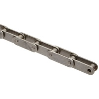 C2040RIV Premium Roller Chain 1 Inch Pitch Double Pitch - Box of 10' Length