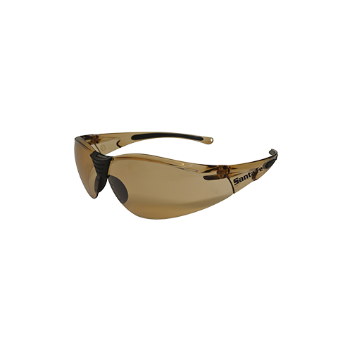 Santafe Bronze Safety Glasses With Anti - Fog