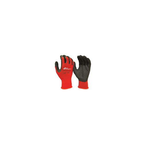 Red Knight Nylon Glove With Latex Gripmaster Coating Technology - XXLarge